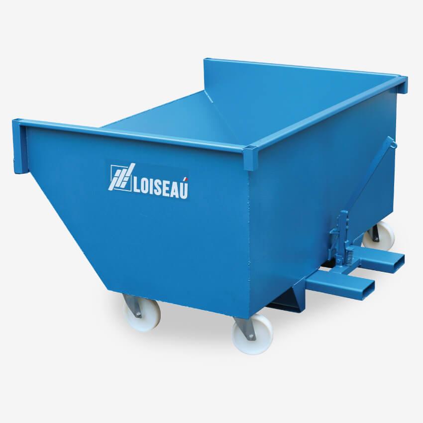Benne à déchets sur roues