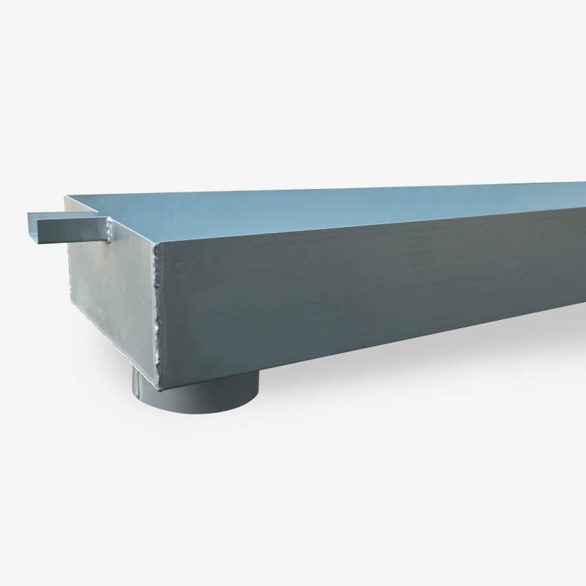 Chéneau pour toiture en acier